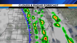 Grand Haven Map Metro Detroit Weather Balmy Wednesday