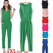 pink jumpsuit womens green rompers and jumpsuits vsw fashion