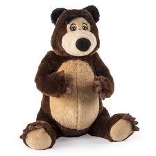 masha bear 8 u201d plush bear walmart