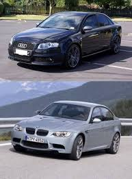 2009 audi a4 vs bmw 3 series 2008 bmw m3 vs 2008 audi rs4