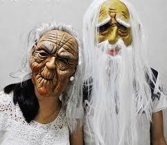Grandma Halloween Costume 369rg Grandma Grandpa Witch Lover Halloween Costume Dance Mask