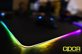 light up gaming mouse pad review razer firefly rgb backlit hard gaming mousepad custom pc