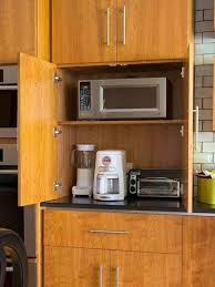 Clever Storage Ideas For Small Kitchens Kitchen Appliances Appliance Storage Cabinet Signin Works Small