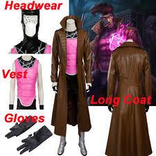 Gambit Halloween Costume Men Cosplay Ebay