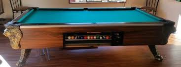 Dlt Pool Table by Irving Kaye Lion Head Pool Table Information