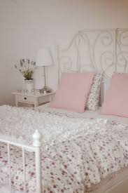 bedroom amusing design ideas using pink loose curtains and