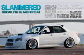 white subaru car white subaru wrx sti s3 magazine