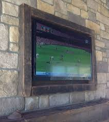 Decorative Flat Screen Tv Covers Diy Tv Frame Disguise That Flat Screen Decorating Your Small Space