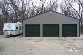 3 Car Garages Easy Assemble Diy Metal Garage Or Shop Miracle Truss
