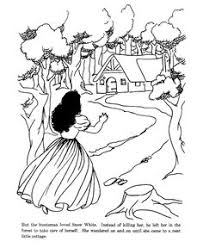 snow white and the seven dwarfs princess coloring pages the