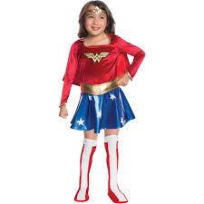 80 halloween costume wonder woman child velvet deluxe dress halloween costume walmart com