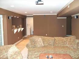 Best Paint For Concrete Walls In Basement by Basement Walls Decor Charming Inexpensive Ideas For Livable Wall