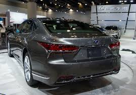 lexus ls 2018 lexus ls 500h debuts in north america at the vancouver show