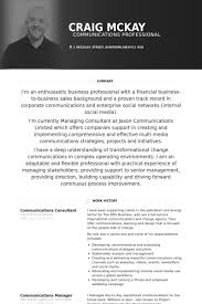 Business Consultant Resume Example by Communications Consultant Resume Samples Visualcv Resume Samples