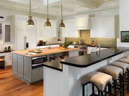 kitchen island with breakfast bar and stools appealing kitchen island bar stools pictures ideas tips from hgtv