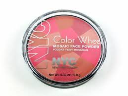 Pink Color Wheel by Nyc Color Wheel Mosaic Face Powder 722a Usa 722a Canada