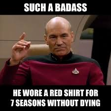 Star Trek Birthday Meme - because he s jean luc picard wars and trek pinterest trek
