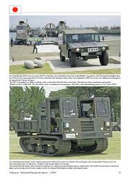 modern army vehicles jgsdf br vehicles of the modern japanese army tankograd publishing
