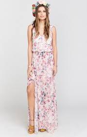 maxi dress for wedding kendall maxi dress wedding shoes floral show me your mumu