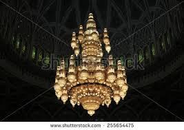 Sultan Qaboos Grand Mosque Chandelier Big Mosque Chandelier Oman Stock Photo 96050042 Shutterstock