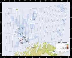 Barents Sea Map Activity Per Sea Area Norwegianpetroleum No