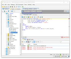 Ora 00942 Table Or View Does Not Exist Editing A Code Object Dbvisualizer 10 0 Users Guide