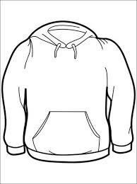 winter clothes coloring page free for kids teacher kid ideas