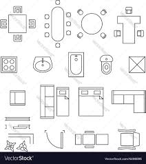 plan floor striking floor plan symbols picture concept furnitureip office