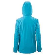 100 waterproof cycling jacket andulo women u0027s 2 layer waterproof jacket malibu blue