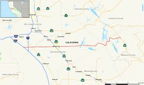 Cal State Map by California State Route 132 Wikipedia