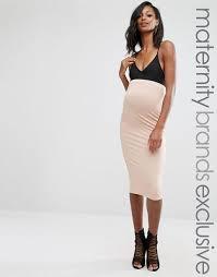maternity sale missguided maternity longline jersey midi skirt women