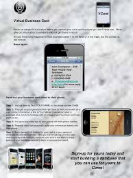 Text Your Business Card Virtual Business Cards