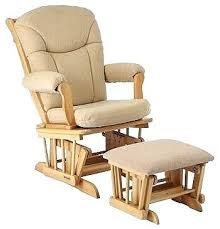 Ottoman For Glider Rocking Chair And Ottoman Stylish Rocking Chair With Ottoman