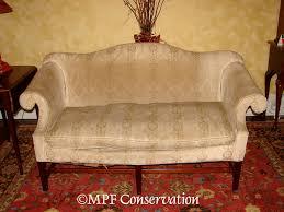 Chippendale Loveseat Upholstery Restoration Sofas Loveseats Recamiers Upholstery
