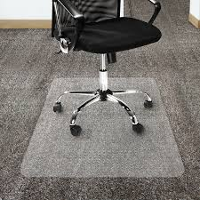 Exercise Floor Mats Over Carpet by Amazon Com Office Marshal Polycarbonate Chair Mat For High Pile