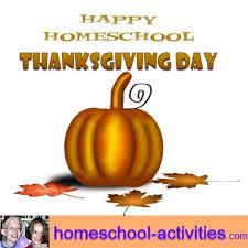 thanksgiving activities for homeschoolers divascuisine