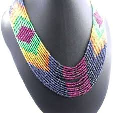 natural stone beaded necklace images Beads gemstone beads multi precious stone bead necklaces natural jpg
