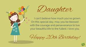 20th birthday wishes u0026 quotes for their special day