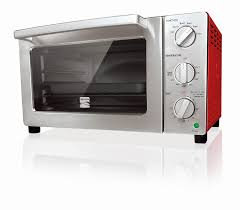 Toaster Oven Reheat Pizza Kenmore 4206 6 Slice Convection Toaster Oven Red Shop Your Way