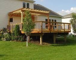 How To Build A Pergola On An Existing Deck by Pergola Design Ideas Pergola Over Deck Most Selected Design Cedar