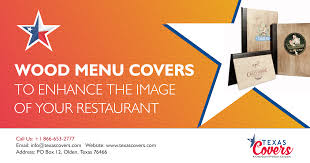 Restaurant Menu Covers Wood Menu Covers Advantages Texascovers Menu Covers