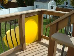 2 Story House With Pool by Kid U0027s Slide From A Second Story Deck Easy To Install And You Don