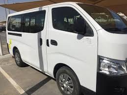 nissan caravan side view nissan urvan 2014 white gcc for sale kargal uae