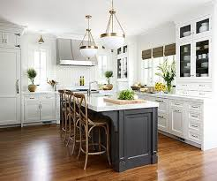 white kitchens with islands contrasting kitchen islands white kitchen island appliance garage