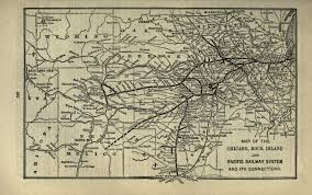 Union Pacific Railroad Map Chicago Rock Island And Pacific Railroad The Handbook Of Texas