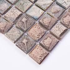 Ceramic Mosaic Tile Sheets Arabesque Patterns Kitchen Backsplash - Tile sheets for kitchen backsplash