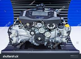 subaru thailand bangkokdec 01 subaru boxer engine 20 stock photo 90319213