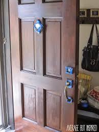 how to refinish an exterior door the easy way