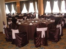 brown chair covers gallery b
