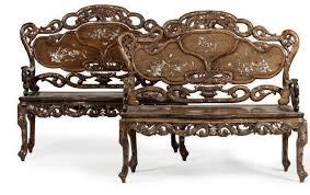 siege c8 neuf vers 1900 salon comprenant neuf pièces en bois incrusté de